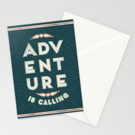 Adventure is Calling Mosaic – Mint & Teal Palette Stationery Cards