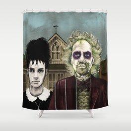 American Gothjuice Shower Curtain