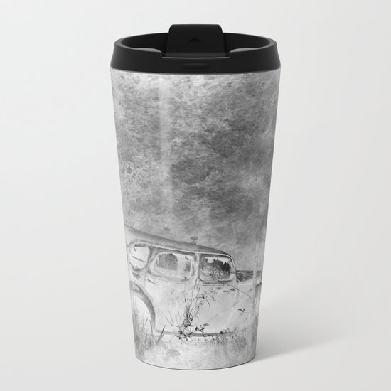 Parked and forgotten Metal Travel Mug