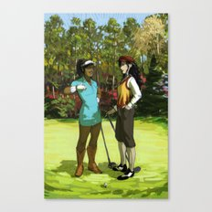 Korrasami - The Fabulous Golf Duo Canvas Print