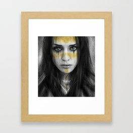 Sorrowful Fortune Framed Art Print