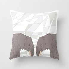 NDOVU 3 Throw Pillow