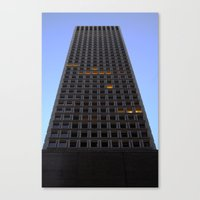 tetris Canvas Prints featuring Tetris by Charles Sinclair