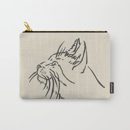 Wishful Whiskers Cat Carry-All Pouch