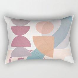 Azzurro Geometry 3 Rectangular Pillow