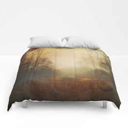 Fall Meadow Comforters