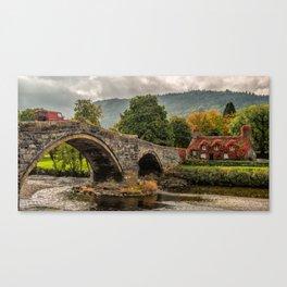 Llanrwst Cottage  Canvas Print