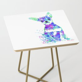 pip the chihuahua Side Table