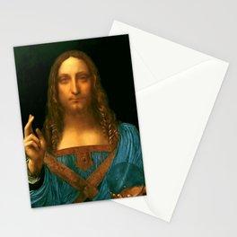 """Leonardo da Vinci """"Salvator Mundi"""" Stationery Cards"""