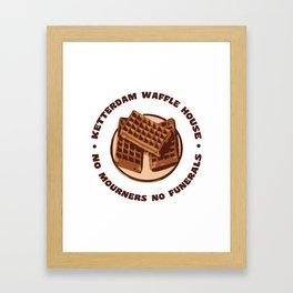 Ketterdam Waffle House Framed Art Print