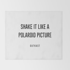 Shake it like a picture Throw Blanket