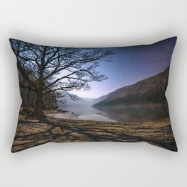 Night sky in Glendalough, Wicklow Mountains - Ireland Print (RR 266) Rectangular Pillow