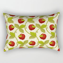 Once upon a time there was an apple Rectangular Pillow