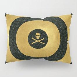 Gold Leaf Target Pillow Sham