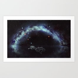 Trapped in the Night Art Print