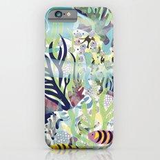 Aquatic with fish iPhone 6 Slim Case