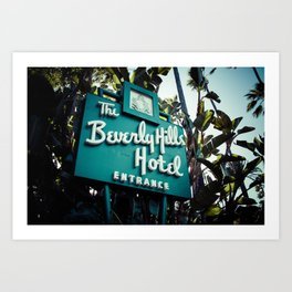 Beverly Hills Hotel, No. 2 Art Print