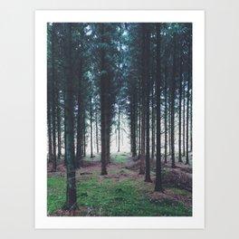 Hurra Foto - Im Gärtel Art Print