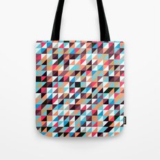 Quilted Patchwork Tote Bag