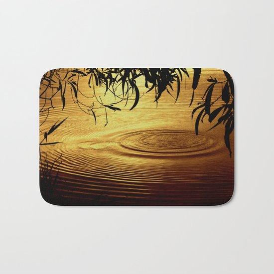 Honey Ripples Bath Mat