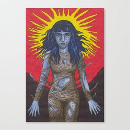 She Is Real Canvas Print