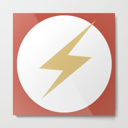 The Flash Vector Logo Metal Print