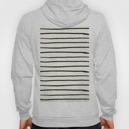 Horizontal Ivory Stripes II Hoody