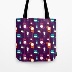 Cats pattern Tote Bag