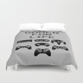 Gamer For Life Duvet Cover