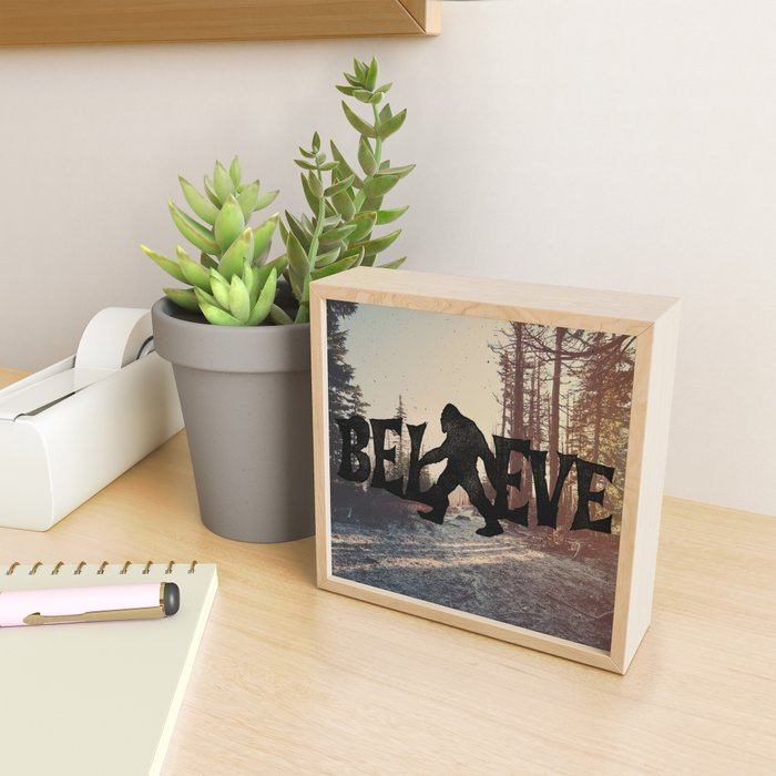 Believe Framed Mini Art Print