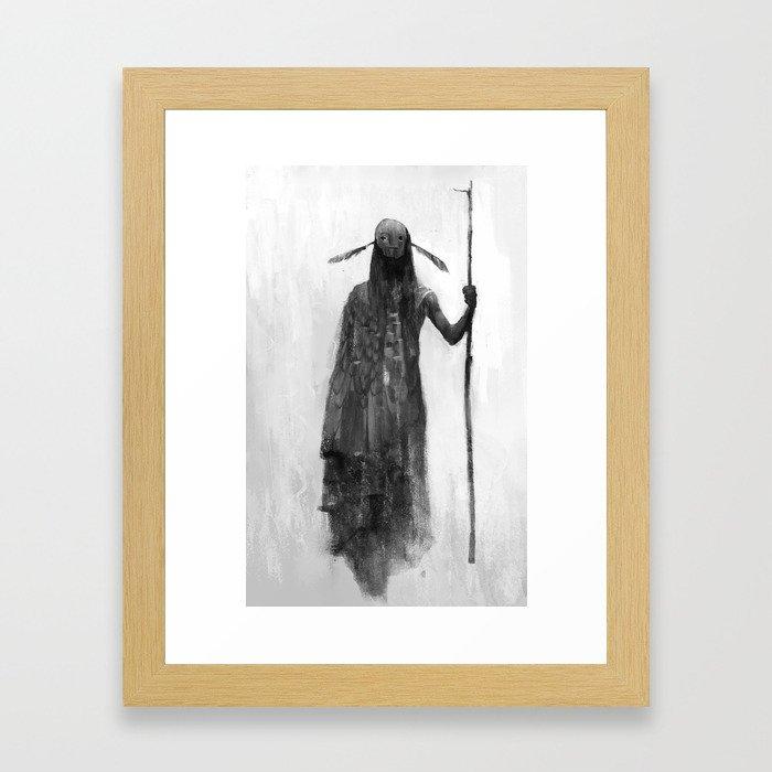 Native Spirit Framed Art Print