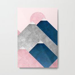 Modern Mountain No2-P2 Metal Print