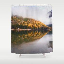 Dolomites 09 - Italy Shower Curtain