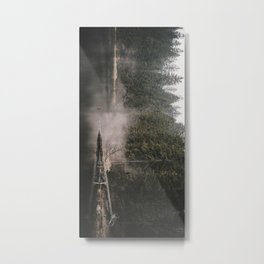 In the Fog - Landscape Photography Metal Print