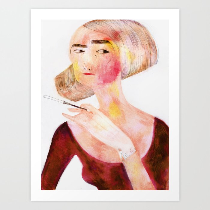Scarlette Art Print