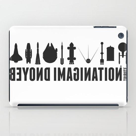 Beyond imagination: Vostok 1 postage stamp  iPad Case