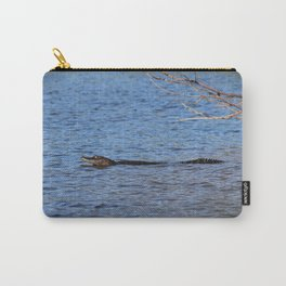 Swimming Alligator Carry-All Pouch