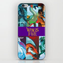 Wings of fire dragon iPhone Skin