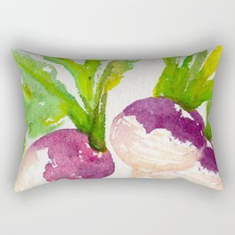 TURNIPS Rectangular Pillow