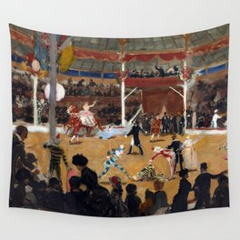 Suzanne Valadon The Circus Wall Tapestry