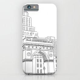 Washington Square Park in New York, NY iPhone Case