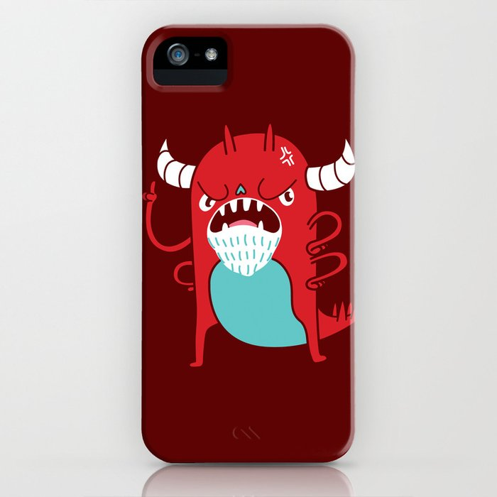 Monster Nagging iPhone Case