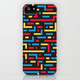 MOVE w/black iPhone Case