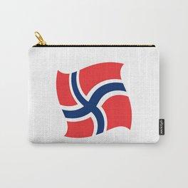 flag of norway 14 – Chalk version  snow,scandinavia,scandinavian,norwegian,oslo Carry-All Pouch