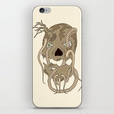 Dead Living by Tree iPhone & iPod Skin
