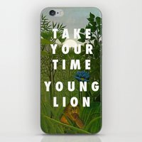 vampire weekend iPhone & iPod Skins featuring Weekend of the Lion by Modern Vampires of Art History