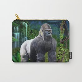 Silverback Gorilla Guardian of the Rainforest Carry-All Pouch