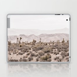 Sierra Nevada Mojave // Desert Landscape Blush Cactus Mountain Range Las Vegas Photography Laptop & iPad Skin