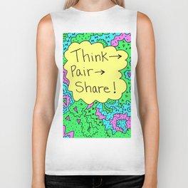Think, Pair, Share! Biker Tank