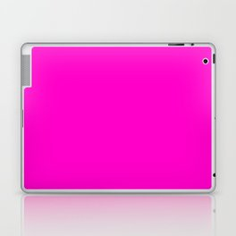 Fluorescent neon pink | Solid Colour Laptop & iPad Skin